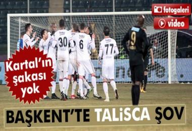 Osmanlıspor 0-2 Beşiktaş maçı geniş özeti