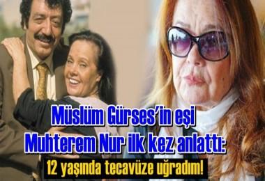 Müslüm Gürses'in eşi Muhterem Nur ilk kez anlattı