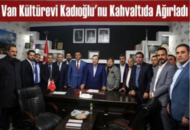 Van Kültürevi Kadıoğlu'nu Kahvaltıda Ağırladı