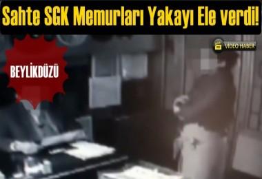 Dolandırıcıların 'SGK denetçisiyiz' oyunu polise takıldı