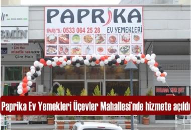 Paprika Ev Yemekleri hizmete açıldı