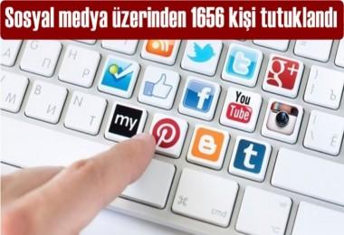 İçişleri Bakanlığı: 1656 kişi tutuklandı