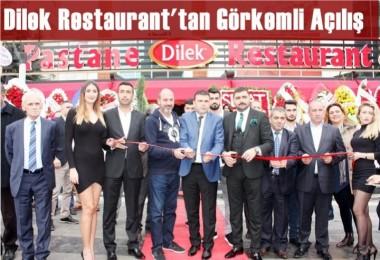 Dilek Restaurant Açıldı
