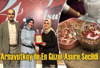 Arnavutköy'de en güzel aşure seçildi
