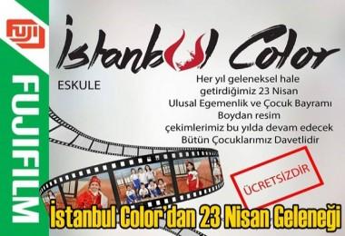 İstanbul Color'dan 23 Nisan Geleneği