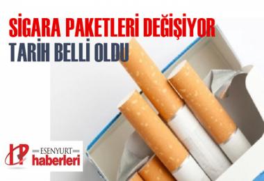 Resmi Gazete'de yayımlandı! Sigara Paketleri Değişiyor