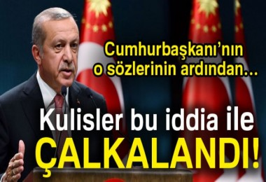 AK Parti kulisleri bu iddia ile çalkalanıyor!