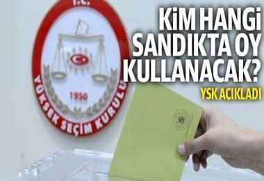 31 Mart yerel seçimlerinde oy kullanılacak sandıklar belli oldu