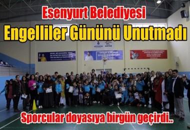 Esenyurt Belediyesi Engelliler Gününü Unutmadı