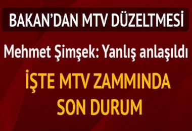 MTV'de son durum