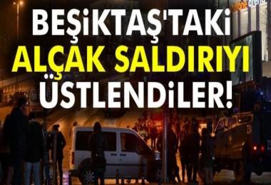 İstanbul'daki hain saldırıyı üstlendiler