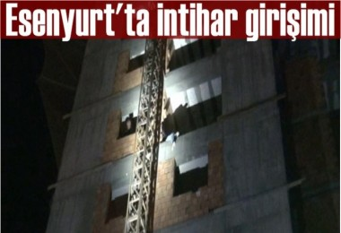 Esenyurt'ta intihar girişimi