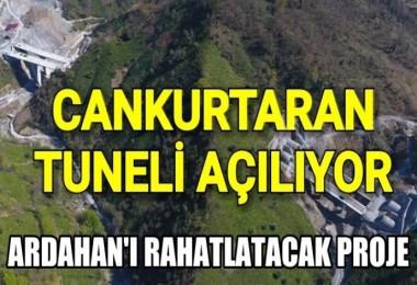 Artvin'deki Cankurtaran Tüneli açılıyor