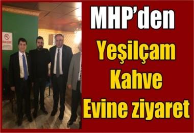 MHP'den Yeşilçam Kahve Evine ziyaret