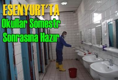 Esenyurt'ta Okullar Sömestr Sonrasına Hazır