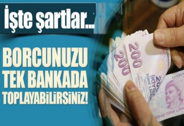 Birden Fazla Bankaya Borcu Olanlara Müjde