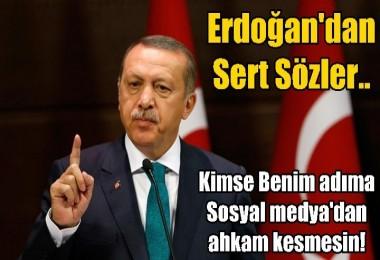 Erdoğan fena patladı: Ne demek adımı kullanmak