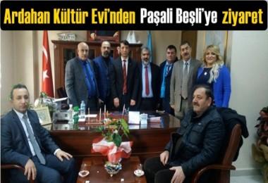 Ardahan Kültür Evi'nden Paşali Beşli'ye ziyaret