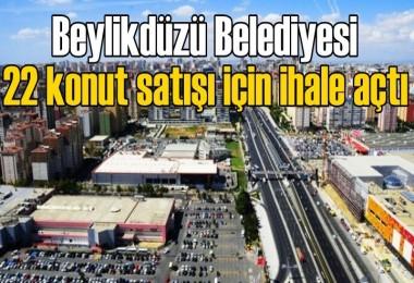 Beylikdüzü Belediyesi 22 konut satışı için ihale açtı