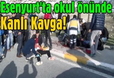 Esenyurt'ta okul önünde öğrenci kavgası: 2 yaralı