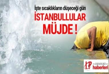 İstanbullulara Müjdeli haber..