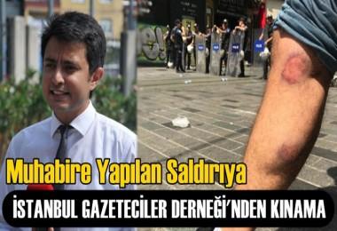 Muhabire yapılan Saldırıya; İGD'den Kınama