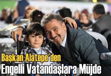 Alatepe'den Engelli Vatandaşlara Müjde