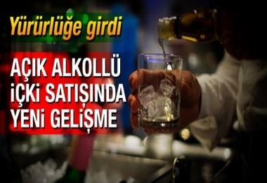 Alkollü İçki satışında Yeni Düzenleme