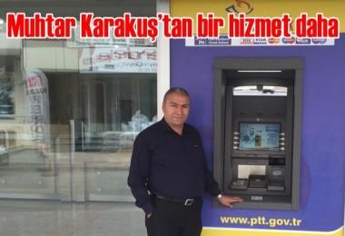 Muhtar Karakuş'tan bir hizmet daha