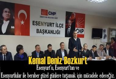 CHP Esenyurt Belediye Başkan Adayı Kemal Deniz Bozkurt'tan Açıklama