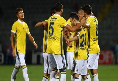 Fenerbahçe siftah yaptı