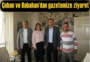 Çoban ve Babahan'dan gazetemize ziyaret