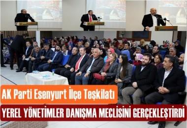 Yerel yönetimler Danışma Meclisi Gerçekleşti