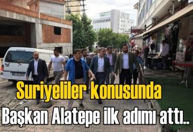 Suriyeliler konusunda Başkan Alatepe ilk adımı attı!