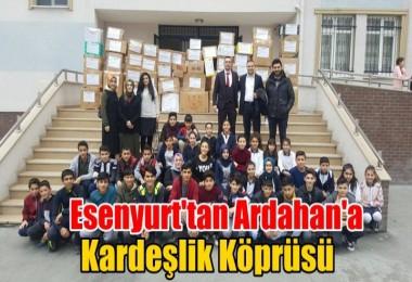 Esenyurt'tan Ardahan'a Kardeşlik Köprüsü