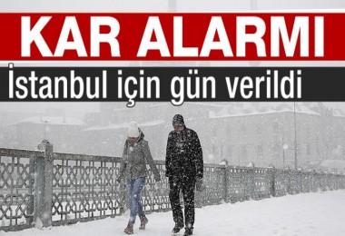 İstanbul ve Ankara için yarın kar yağışı uyarısı