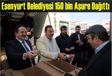 Esenyurt Belediyesi 150 bin Aşure Dağıttı