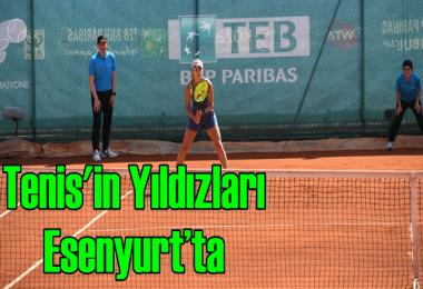 Dünya tenis yıldızları Esenyurt'ta