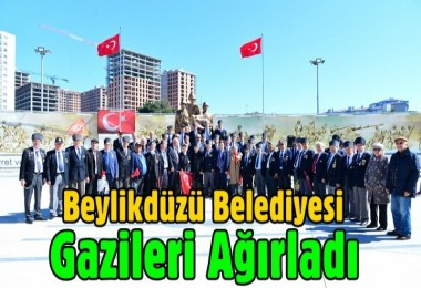 Beylikdüzü Belediyesi Gazileri Ağırladı