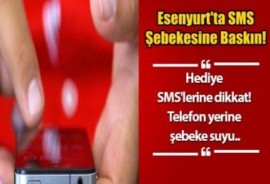 Hediye SMS'lerine dikkat! Telefon yerine şebeke suyu