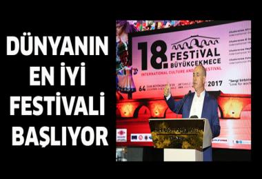 Dünyanın en iyi festivali başlıyor!