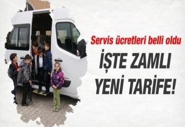 İstanbul'da okul servislerine zam