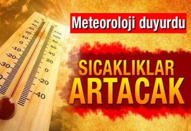 Hava sıcaklığı yakacak