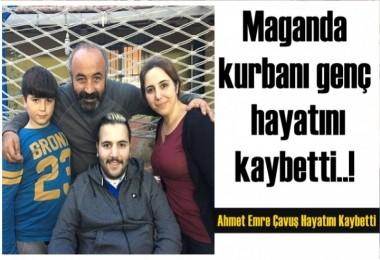 Maganda kurbanı genç hayatını kaybetti