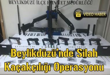 Beylikdüzü'nde Silah Kaçakçılığı Operasyonu