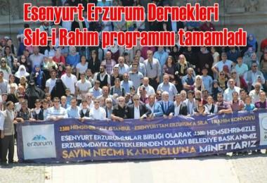 Esenyurt Erzurum Dernekleri Sıla-i Rahim programını tamamladı