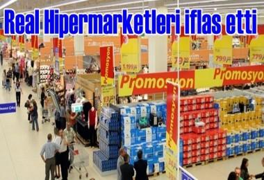 Real Hipermarketler zinciri, iflas etti
