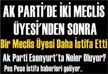 Meclis Üyesi Şerafettin Öztürk'te Ak Parti'den İstifa etti