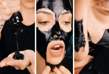 Cildi pırıl pırıl yapan siyah maske