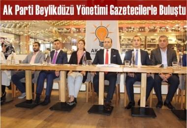 Ak Parti Beylikdüzü yönetimi gazetecilerle buluştu
